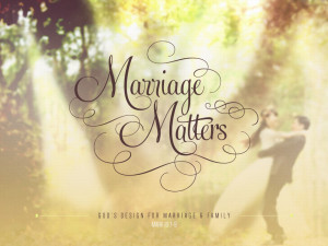 Marriage Matters Religious PowerPoint (1)